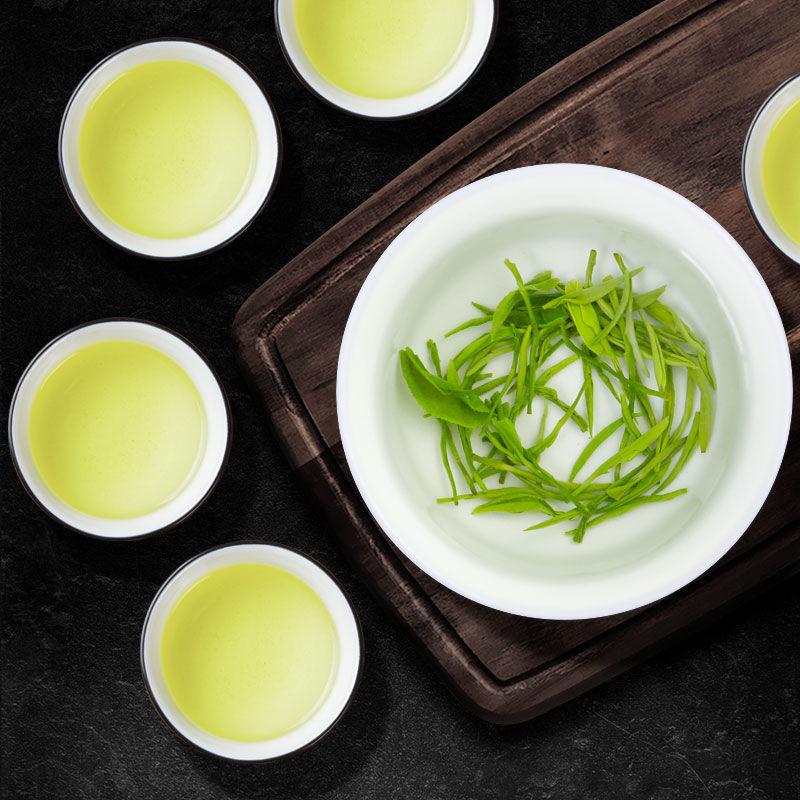 54151-特级毛尖茶叶绿茶2021信阳新茶明前嫩芽毛尖浓香型绿茶250克罐装-详情图