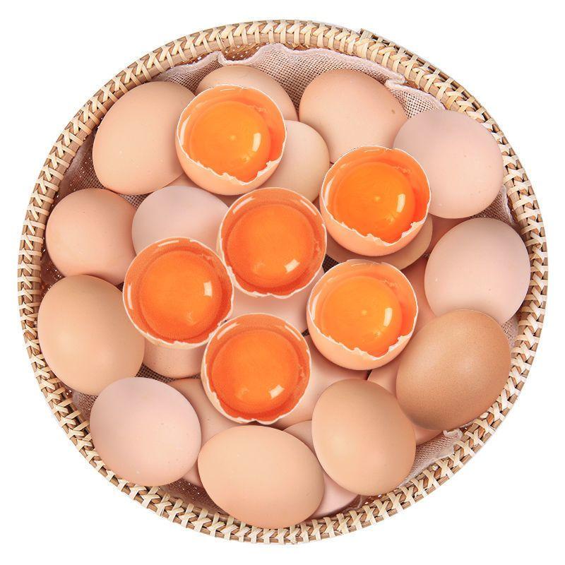 农家精选散养生态土鸡蛋新鲜农村笨鸡蛋月子宝宝蛋批发现拣现发