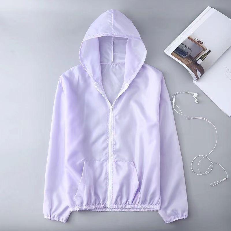 韩版女士防晒衣夏季新款短款宽松超薄透气