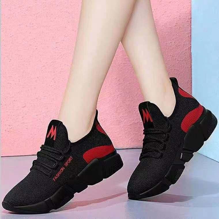 新款女鞋子春季休闲鞋韩版女运动鞋