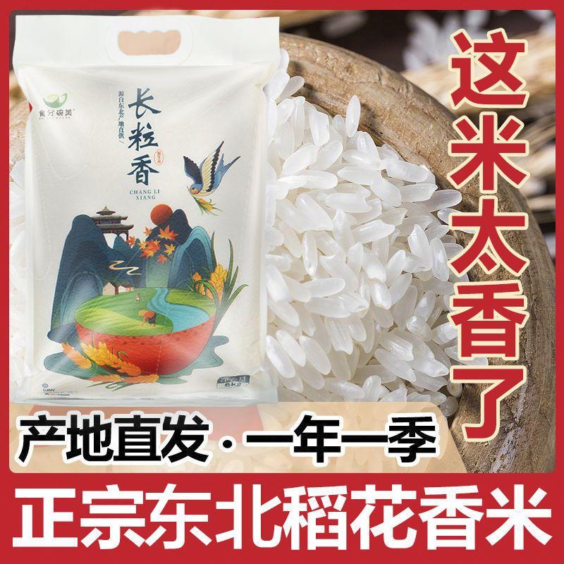 五常稻花香米10斤装【新米】20年新大米正宗东北长粒米稻香米5斤