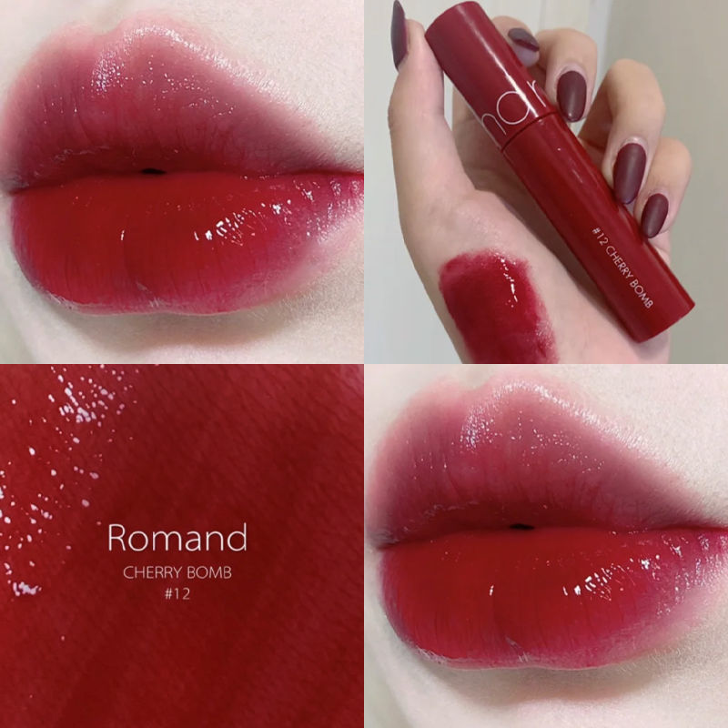 【官方正品】2020年7月新品韩国ROMAND果汁唇釉口红水润保湿哑光