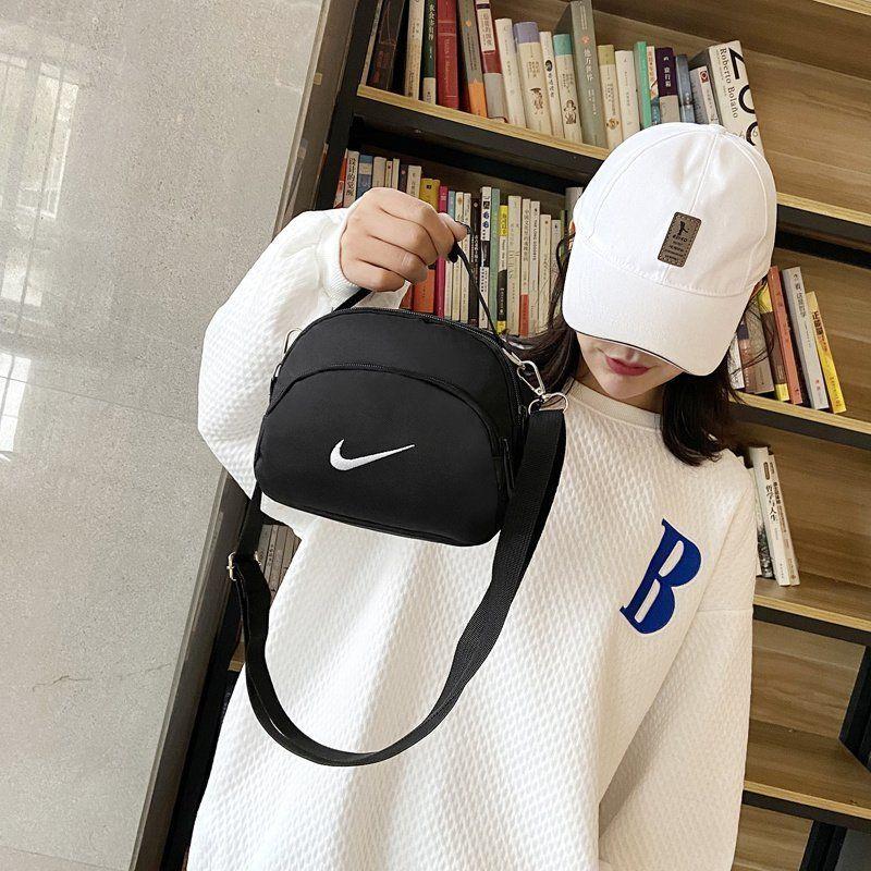 时尚对勾包包男女单肩斜跨包运动小包包
