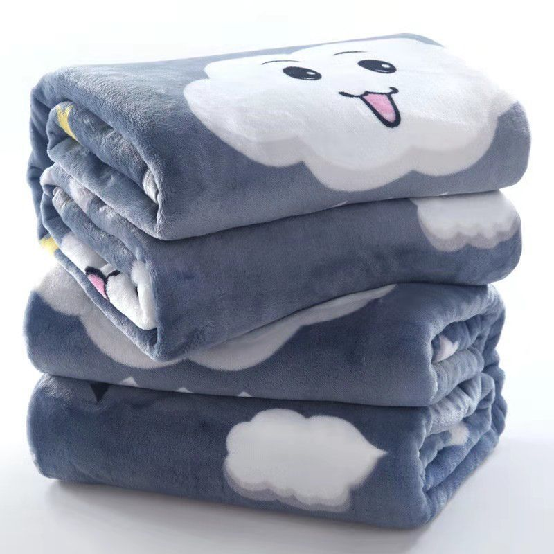四季毛毯都可以使用的法兰绒空调毯