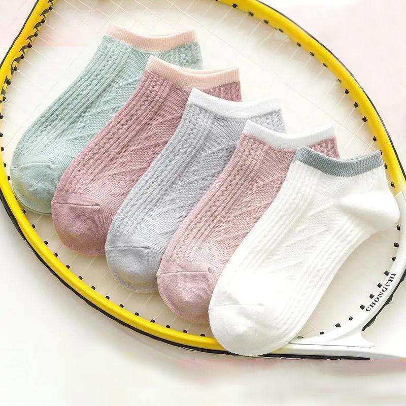 袜子女短袜春夏季薄款可爱日系浅口船袜隐形ins潮网红款韩版百搭