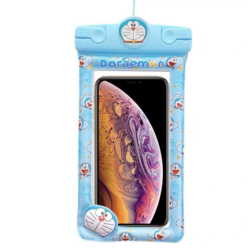 37759-手机防水袋卡通可爱触屏游泳潜水套拍照气囊OPPO华为vivo苹果通用-详情图