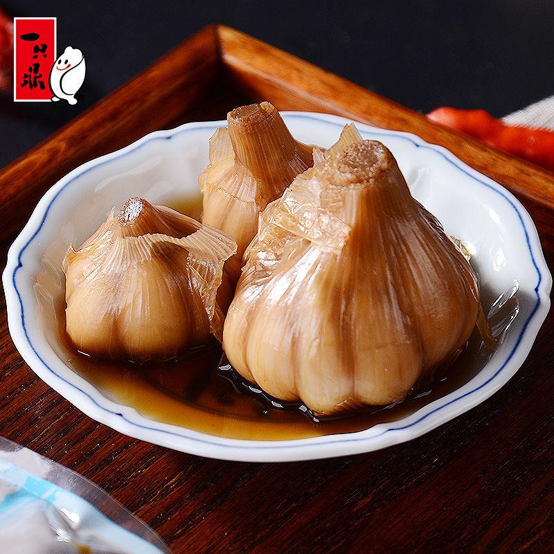 一只鼎上海糖醋大蒜200g*3包 开袋即食拌饭菜凉菜下饭菜小菜酱菜