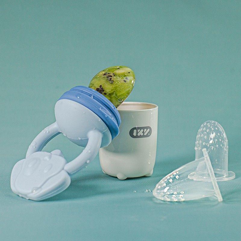 88604-爱咔威IKV婴儿咬咬袋果蔬乐食物宝宝吃水果汁辅食硅胶6个月磨牙棒-详情图