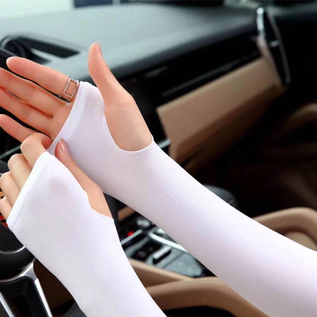 冰夏季防晒女男袖套紫外线护臂手臂套袖