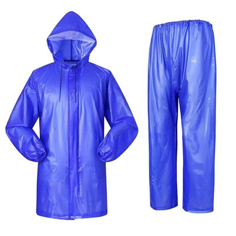 牛筋雨衣雨裤防暴雨全身套装成人男女士干活工地分体单人加厚批发