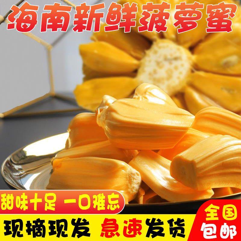 海南现摘 新鲜树黄肉菠萝蜜1个整装 当季水果 果肉饱满 热带水果