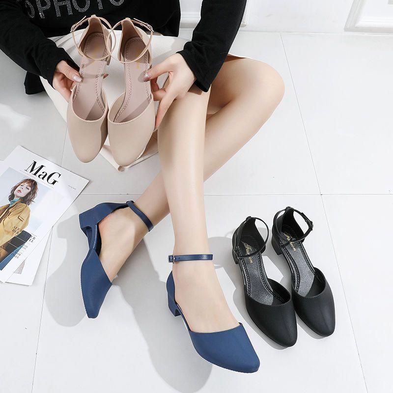 凉鞋女2021新款夏时尚外穿软底防滑气质