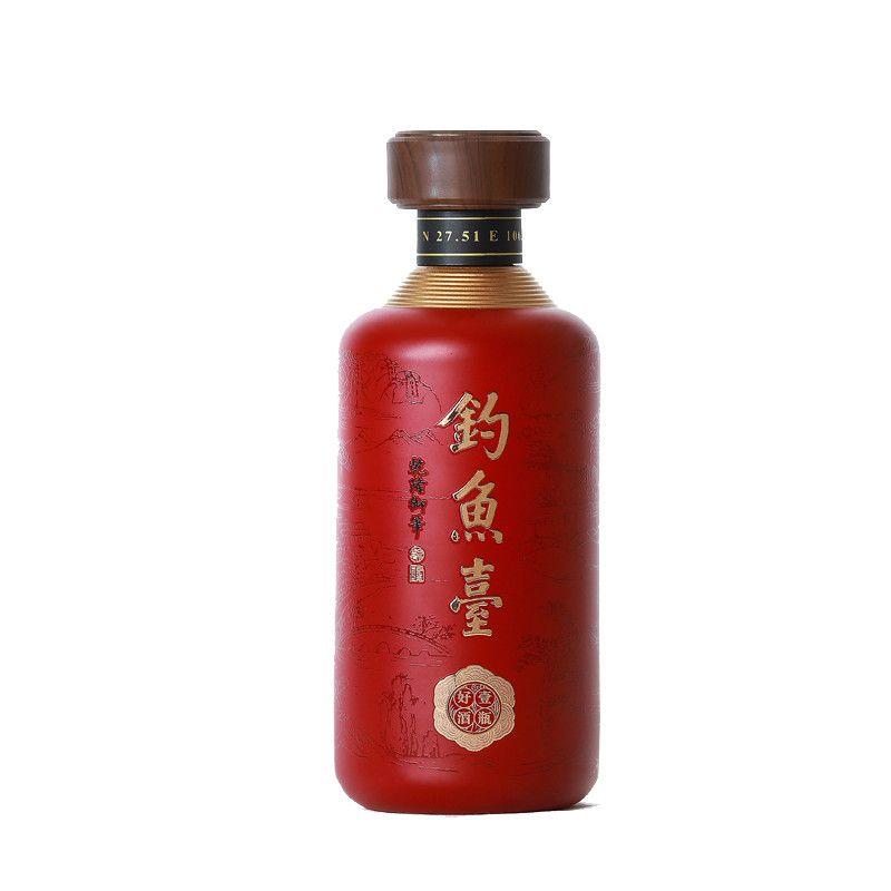 钓鱼台壹瓶好酒酱香型53度500ml*6瓶