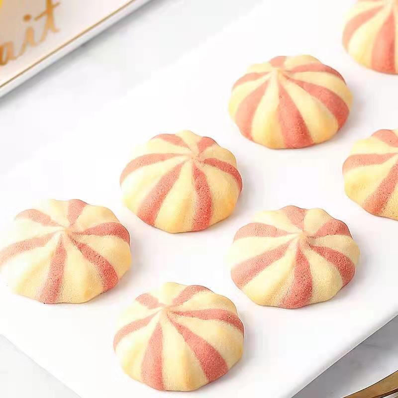 54328-【日期新鲜】爆浆曲奇饼干批发整箱特价曲奇巧克力豆网红夹心饼干-详情图
