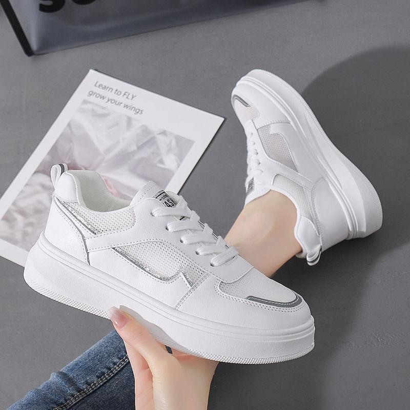 2021夏季新款小白鞋女爆款学生韩版百搭
