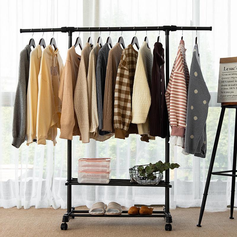 家用晾衣架落地卧室小型凉挂衣架子