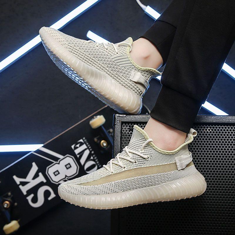 热卖新款鞋子男2021新款椰子350男鞋春夏款椰子鞋男正版aj鞋ins百