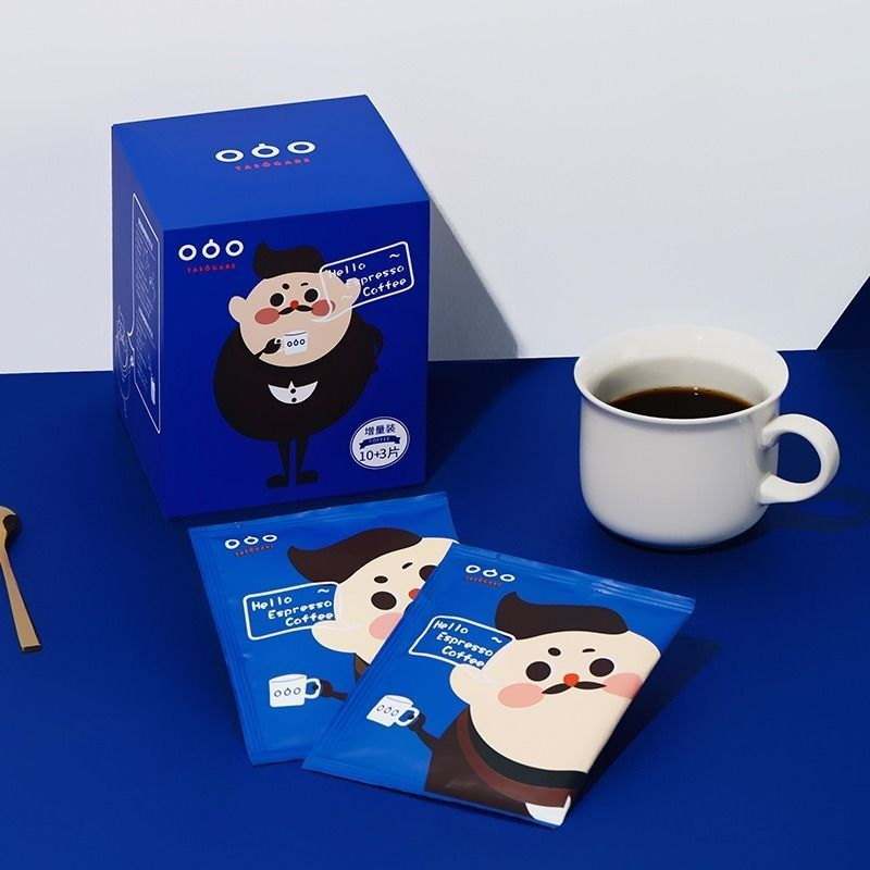37784-隅田川咖啡冷萃袋泡无糖黑咖啡燃脂学生提神熬夜现磨纯咖啡粉10袋-详情图