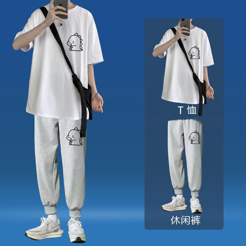 短袖纯棉t恤男士