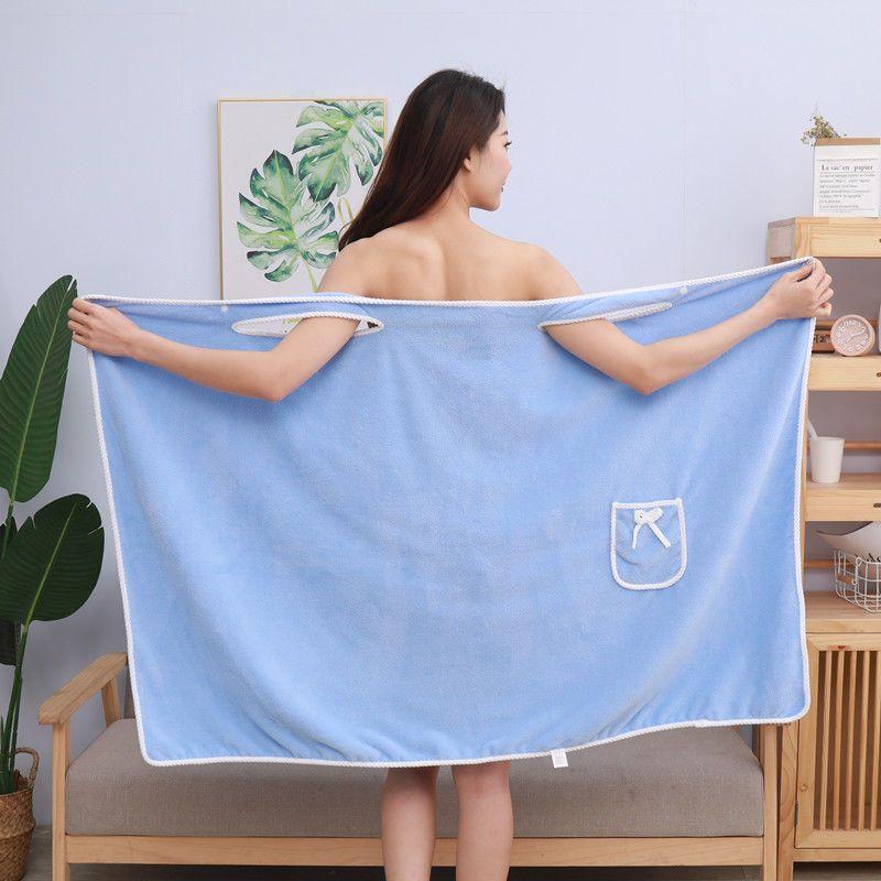 加大码90-190斤可穿浴巾成人女裹胸浴裙比纯棉柔软超强吸水不掉毛