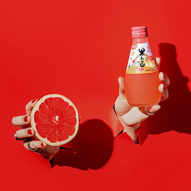 54248-威兰特果小酒网红高颜值低度女士甜酒水果发酵果酒6°微醺-详情图