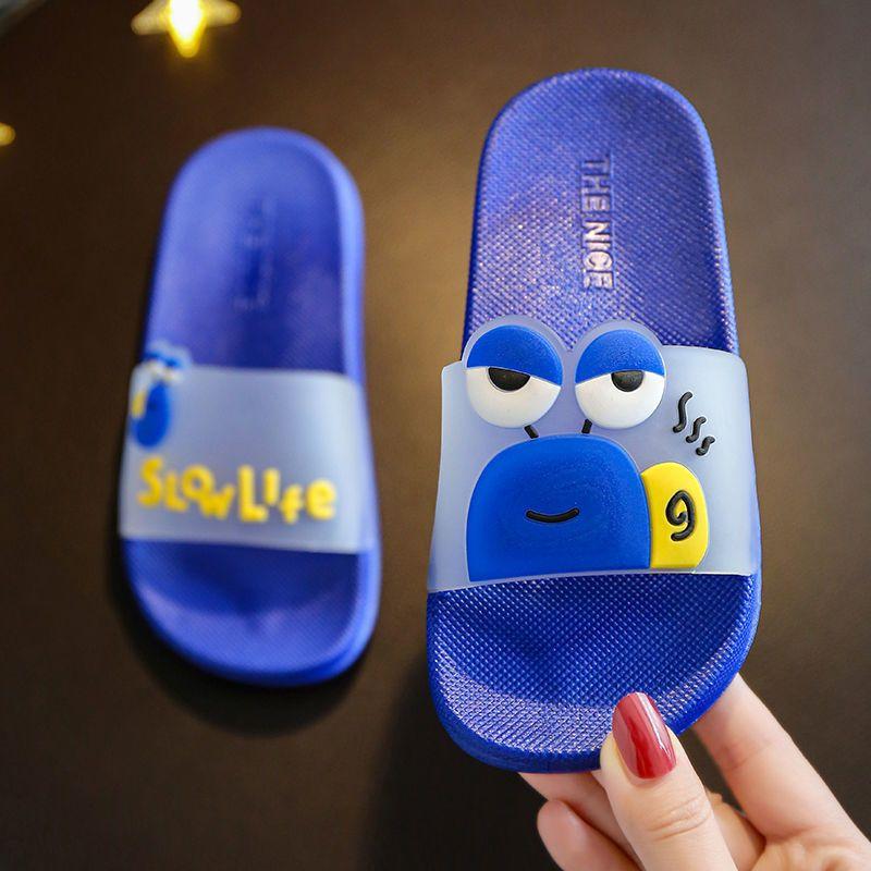 儿童凉拖鞋夏男女童卡通浴室防滑软底居家沙滩小中大童宝宝拖鞋