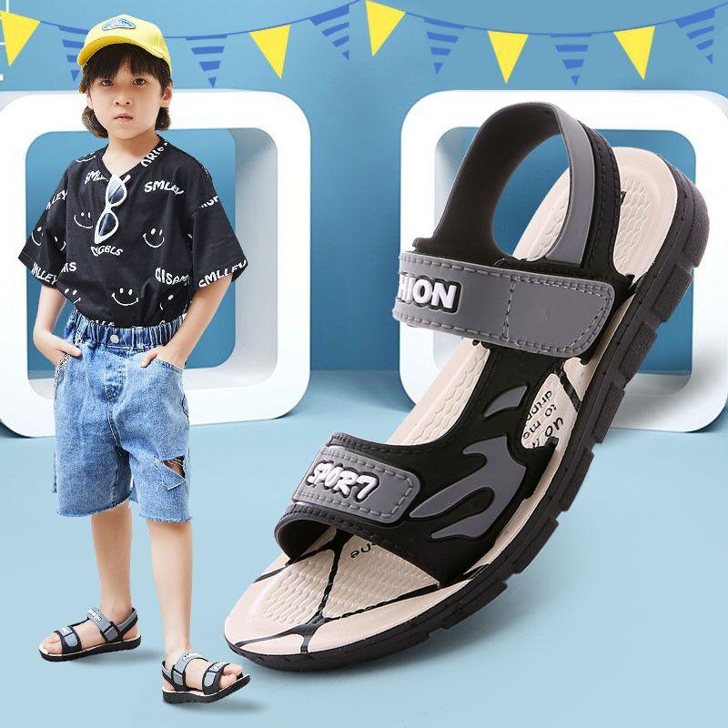 男童凉鞋2021新款夏季中大童男孩软底防滑小童宝宝鞋子儿童童鞋男