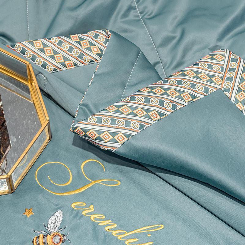 54201-LACASA可机洗空调被夏凉被天丝夏被刺绣薄被子春秋被夏天被芯双人-详情图