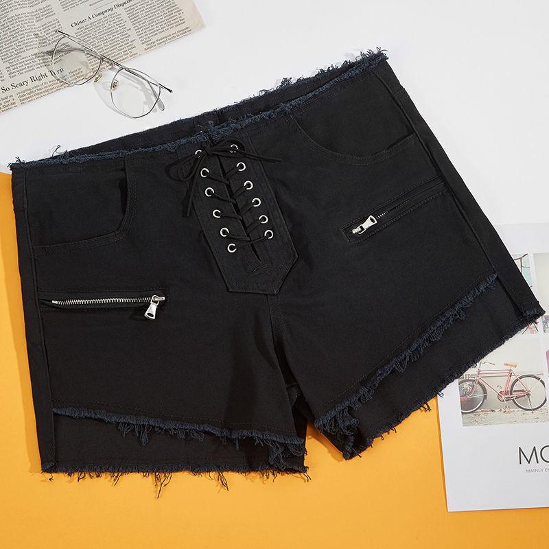 新款黑色裙子女休闲百搭短裙裙裤显瘦女裙