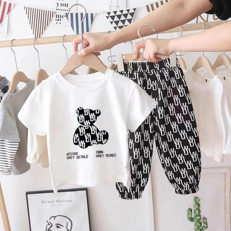 新款中小童时尚洋气男女宝宝防蚊卫裤外穿