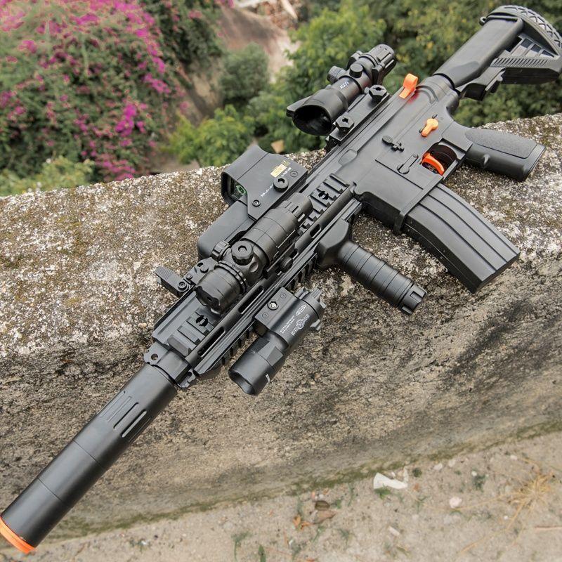 m416突击步枪电动连发儿童软弹枪吃鸡玩具绝地求生男孩玩具枪8 10
