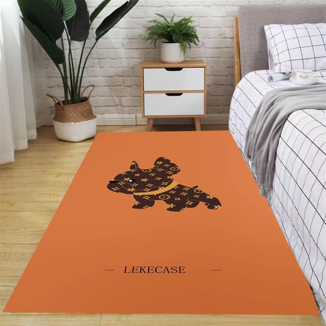 地毯卧室少女耐脏客厅网红床边地垫门口入户门厨房卫生间防滑地垫