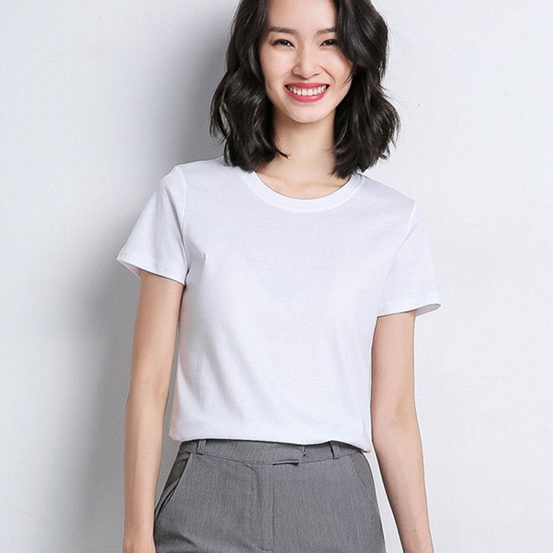女装2021新款短袖夏季打底衫