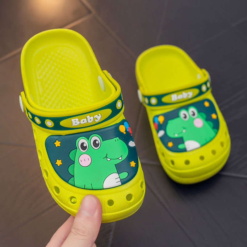童鞋2021新款儿童洞洞鞋女童男童卡通凉