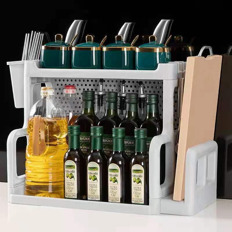 厨房架子置物架多层收纳架用品大全调料架