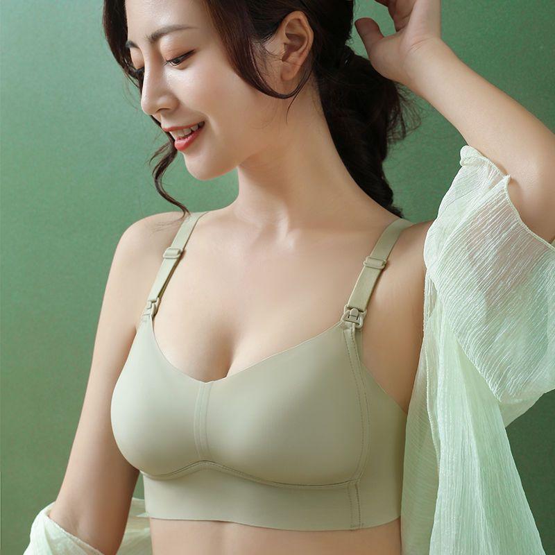 75845-慕倩哺乳内衣新款聚拢防下垂夏季薄款怀孕期产后喂奶孕妇文胸罩女-详情图