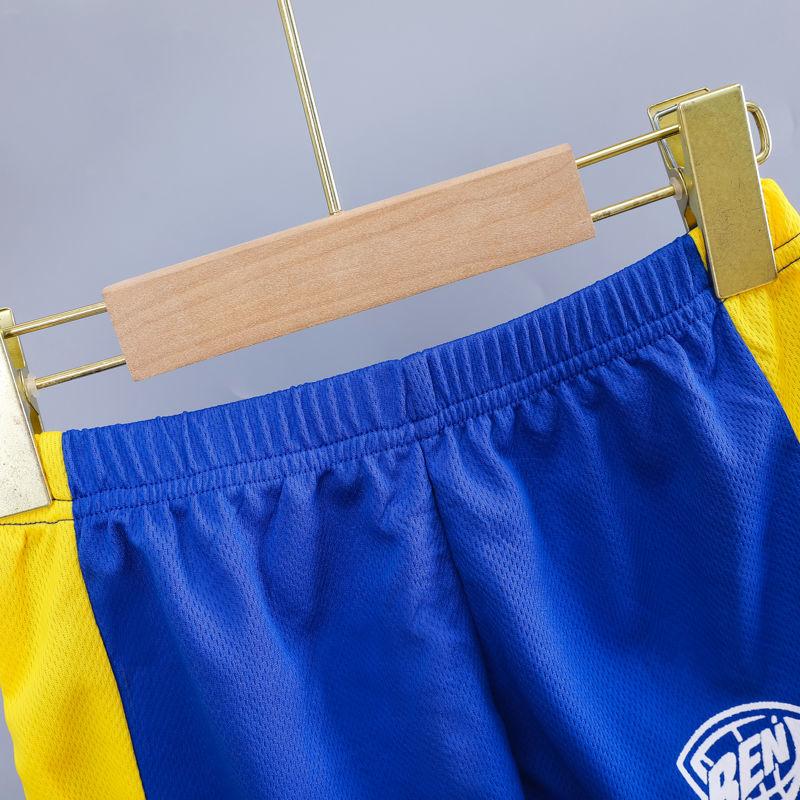 37739-男女童速干衣运动套装2021夏季新款帅气篮球服男孩女孩中大童球衣-详情图