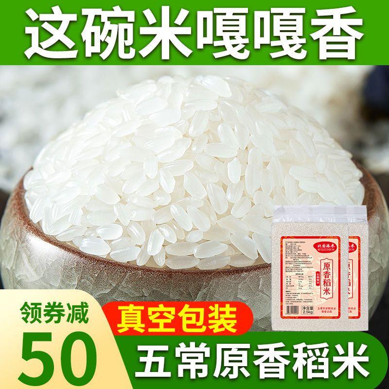 五常稻香真空10斤米五常原香稻五常香米东北长粒香大米批发新米