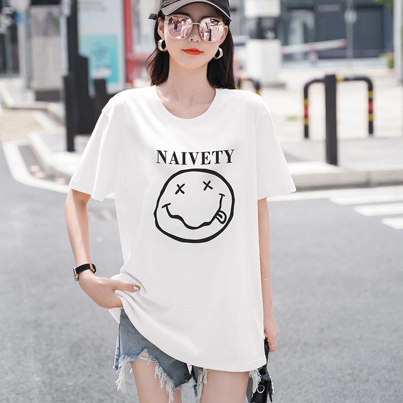 短袖t恤女装夏季2021年新款潮韩版