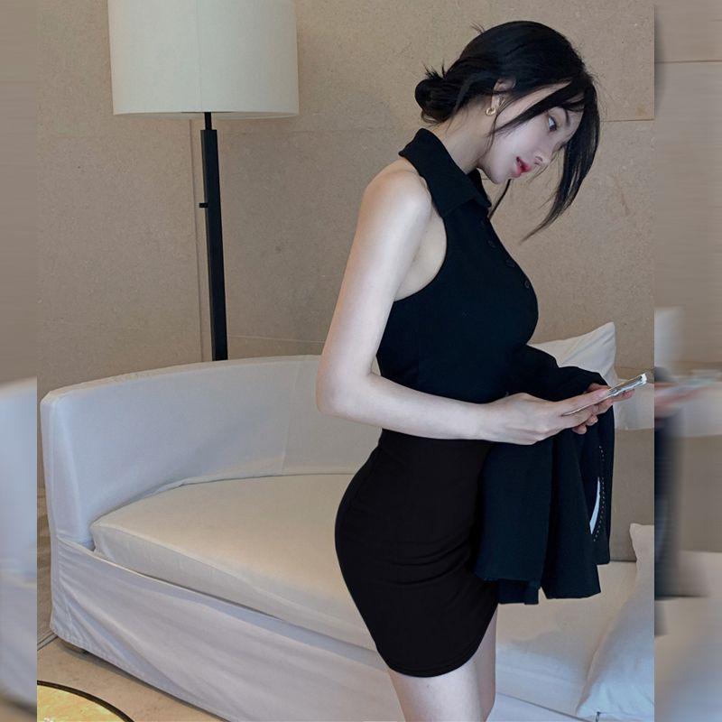 37749-超短裙包臀裙小个子半身裙145矮个子2021新款显高短裙子性感包裙-详情图