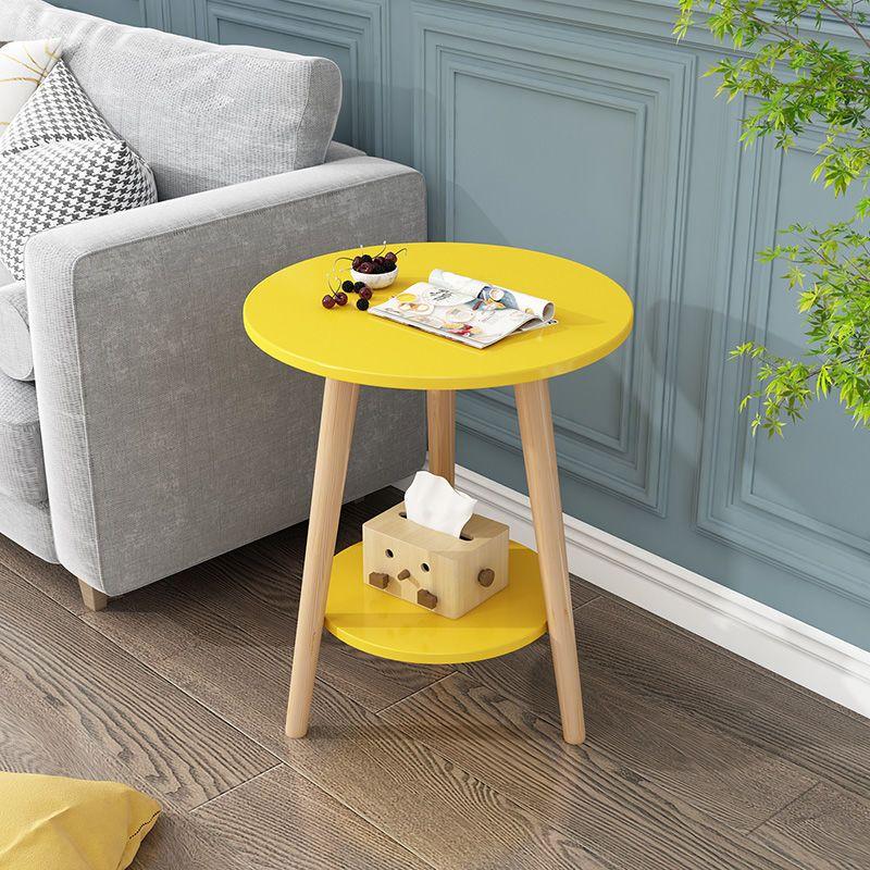 沙发边几现代简约客厅可移动小茶几桌边小圆桌小桌子