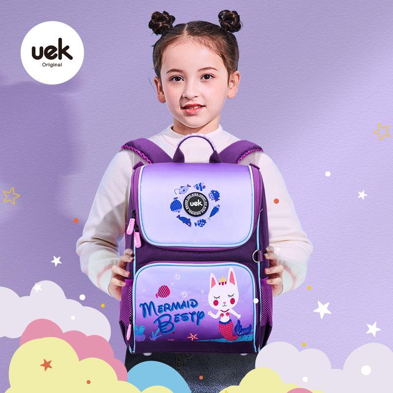 54224-UEK小学生书包1-3年级女孩轻便女生双肩背包男女童6-12岁儿童书包-详情图