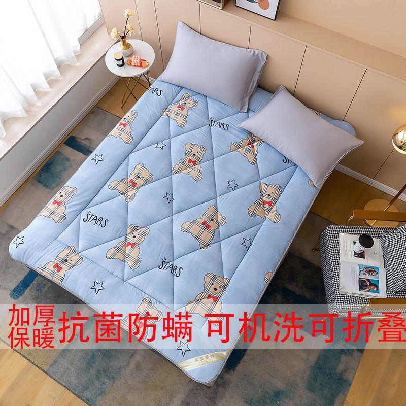 54184-四季床垫加厚防滑褥子学生宿舍单人双人1.5米1.2宽可折叠软垫子-详情图