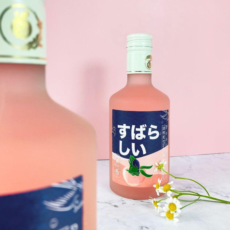 75677-6度蜜桃酒水果酒女生酒低度酒微醺果酒江南桃纪甜酒高颜值少女酒-详情图