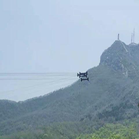 景区飞天高空威亚设备安装舞台升降机影视拍摄空中飞人吊钢丝定制