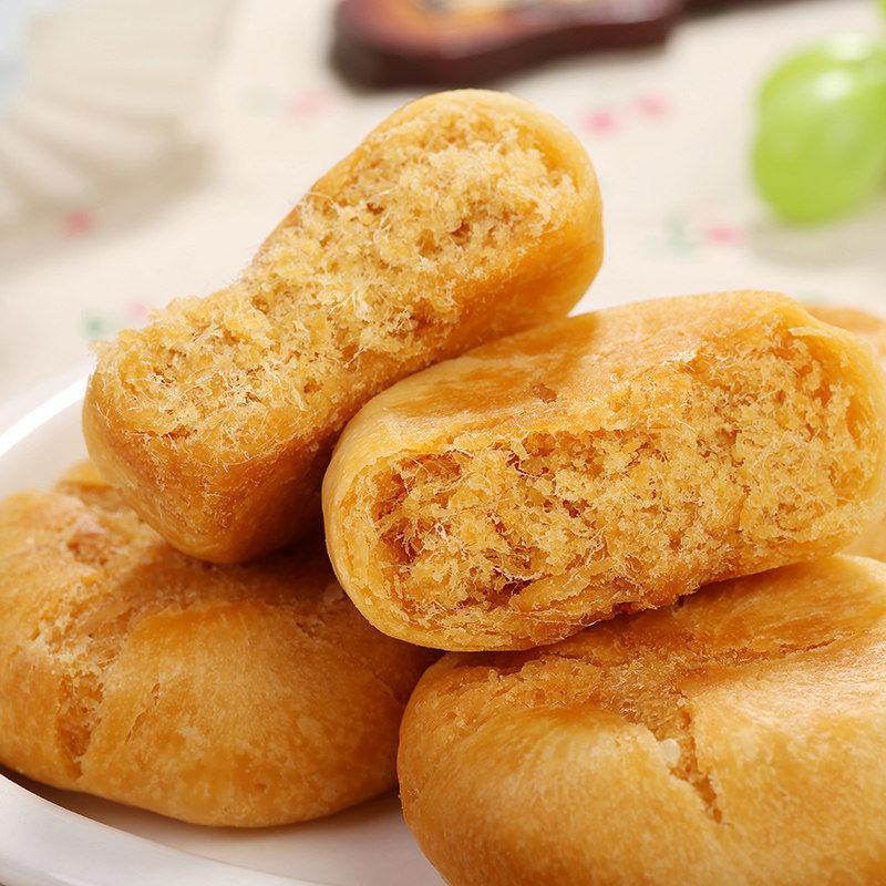 54275-莞亿味香肉松饼正宗早餐面包整箱宿舍充饥糕点小零食小吃休闲食品-详情图