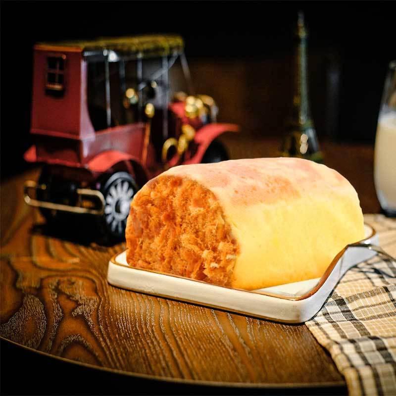 75659-鸡蛋肉松面包奶油沙拉酱夹心面包蛋糕手撕肉松面包营养早餐面包-详情图