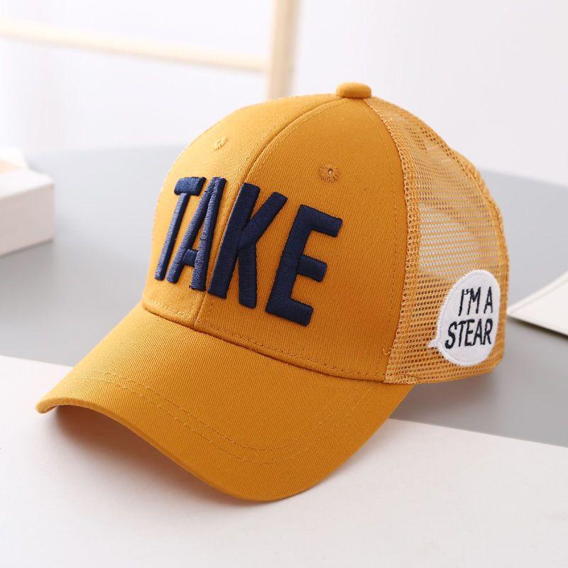 夏装新款6儿童帽子3-12岁7潮男童8小女孩9中大童10遮阳鸭舌帽11网