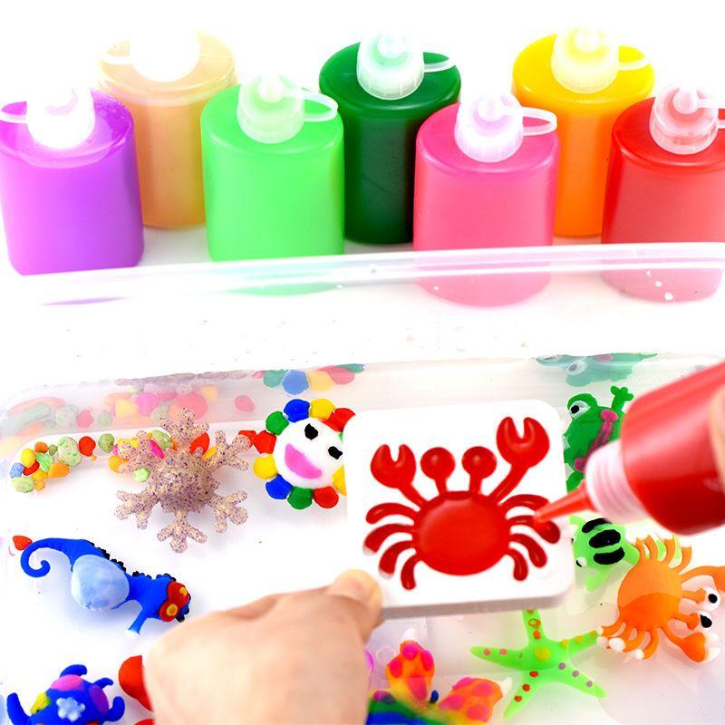 水宝宝魔幻魔法水精灵手工DIY制作材料儿童玩具女孩礼物海绵宝宝