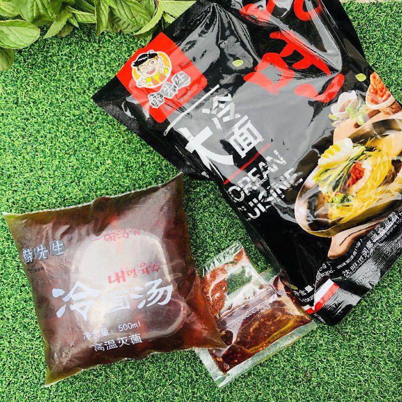 薛先生冷面汤东北朝鲜族浓缩速食调料甜酸热面家用500g1袋新日期
